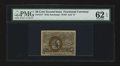 Fractional Currency:Second Issue, Fr. 1317 50c Second Issue PMG Uncirculated 62 EPQ....