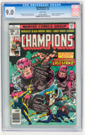 Bronze Age (1970-1979):Superhero, The Champions #17 (Marvel, 1978) CGC VF/NM 9.0 White pages....
