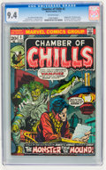 Bronze Age (1970-1979):Horror, Chamber of Chills #2 (Marvel, 1973) CGC NM 9.4 Off-white pages....