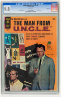 Silver Age (1956-1969):Miscellaneous, Man from U.N.C.L.E. #6 Pacific Coast pedigree (Gold Key, 1966) CGCNM/MT 9.8 White pages....
