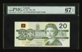 Canadian Currency: , BC-58d $20 1991.. ...