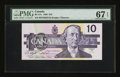 Canadian Currency: , BC-57c $10 1989.. ...