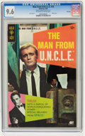 Silver Age (1956-1969):Adventure, Man from U.N.C.L.E. #18 File Copy (Gold Key, 1968) CGC NM+ 9.6 Off-white to white pages....