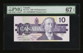 Canadian Currency: , BC-57aA $10 1989 Replacement.. ...
