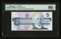 Canadian Currency: , BC-56e $5 1986.. ...
