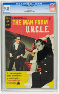 Man from U.N.C.L.E. #22 Pacific Coast pedigree (Gold Key, 1969) CGC NM/MT 9.8 White pages