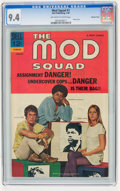 Mod Squad #1 Western Penn pedigree (Dell, 1969) CGC NM 9.4 Off-white to white pages