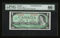 Canadian Currency: , BC-45b-i $1 1967.. ...