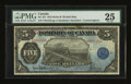 Canadian Currency: , DC-21f $5 1912. ...