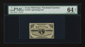 Fractional Currency:Third Issue, Fr. 1226 3c Third Issue PMG Choice Uncirculated 64 EPQ....