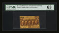 Fractional Currency:First Issue, Fr. 1281 25c First Issue PMG Choice Uncirculated 63....