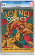 Golden Age (1938-1955):Science Fiction, Science Comics #5 (Fox, 1940) CGC GD 2.0 Cream to off-whitepages....