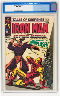 Tales of Suspense #97 (Marvel, 1968) CGC NM+ 9.6 White pages