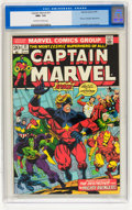 Bronze Age (1970-1979):Superhero, Captain Marvel #31 (Marvel, 1974) CGC NM+ 9.6 Off-white to white pages....