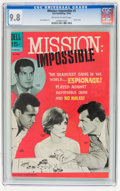 Mission: Impossible #5 (Dell, 1969) CGC NM/MT 9.8 Off-white to white pages