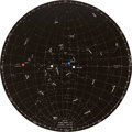 "Transportation:Space Exploration, Apollo 11 Training-Used ""LM-LO"" Star Chart Directly from thePersonal Collection of Astronaut John Young, Signed andCertified..."