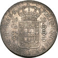 "Brazil, Brazil: Joao 960 Reis 1815R ""Inverted Reverse"" (Coin alignment),..."