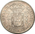 "Brazil, Brazil: Maria I 640 Reis 1790 ""High Crown"",..."