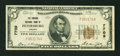 National Bank Notes:Virginia, Petersburg, VA - $5 1929 Ty. 1 The Virginia NB Ch. # 7709. ...