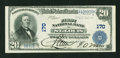 National Bank Notes:Missouri, Saint Louis, MO - $20 1902 Plain Back Fr. 650 First NB Ch. # 170....