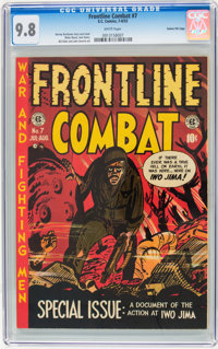 Frontline Combat #7 Gaines File pedigree pedigree 2/10 (EC, 1952) CGC NM/MT 9.8 White pages