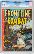 Golden Age (1938-1955):War, Frontline Combat #10 Gaines File pedigree pedigree 2/9 (EC, 1953)CGC NM/MT 9.8 Off-white to white pages....