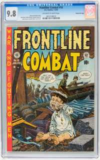 Frontline Combat #10 Gaines File pedigree pedigree 2/9 (EC, 1953) CGC NM/MT 9.8 Off-white to white pages