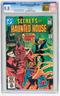 Modern Age (1980-Present):Horror, Secrets of Haunted House #37 (DC, 1981) CGC NM/MT 9.8 Whitepages...
