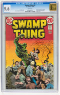 Bronze Age (1970-1979):Horror, Swamp Thing #5 (DC, 1973) CGC NM+ 9.6 White pages....