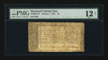 Colonial Notes:Maryland, Maryland January 1, 1767 $4 PMG Fine 12 Net....