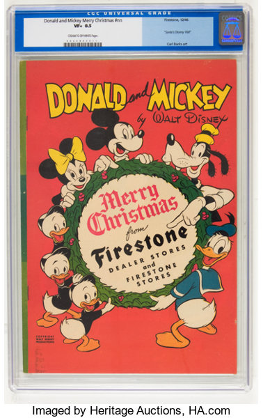 golden age 1938 1955cartoon character donald and mickey merry christmas - Mickey Merry Christmas