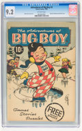 Silver Age (1956-1969):Humor, Adventures of Big Boy #2 (Timely, 1956) CGC NM- 9.2 Off-white pages....