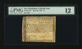 Colonial Notes:New Hampshire, New Hampshire April 29, 1780 $7 PMG Fine 12....
