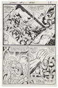 Original Comic Art:Panel Pages, Jack Kirby and Mike Royer The Demon #5 page 22 Original Art(DC, 1973)....