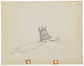 Animation Art:Production Drawing, Mickey Mouse Two-Gun Mickey Animation Production DrawingOriginal Art Group (Disney, 1934).... (Total: 2 )