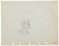 Animation Art:Production Drawing, Mickey Mouse Mickey's Fire Brigade Production Drawing Animation Art Group (Disney, 1935).... (Total: 2 Items)