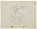 Animation Art:Production Drawing, Mickey Mouse Mickey's Garden Animation Production DrawingOriginal Art (Disney, 1935)....