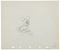 Animation Art:Production Drawing, Mickey Mouse Brave Little Tailor Animation ProductionDrawing Original Art Group (Disney, 1938).... (Total: 2 )