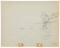 Animation Art:Production Drawing, Mickey Mouse Building a Building Animation ProductionDrawing Original Art Group (Disney, 1933).... (Total: 2 )