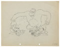 Animation Art:Production Drawing, Mickey Mouse The Pet Store Animation Production DrawingOriginal Art (Disney, 1933)....