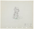 Animation Art:Production Drawing, Pinocchio Animation Production Drawing Original Art Group(Disney, 1940).... (Total: 2 )