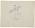 Animation Art:Production Drawing, Mickey Mouse Mickey In Arabia Animation Production DrawingOriginal Art (Disney, 1932)....