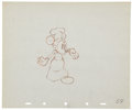 Animation Art:Production Drawing, Mickey Mouse Mickey's Trailer Animation Production Drawing Original Art (Disney, 1938)....