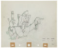 Animation Art:Production Drawing, Pinocchio Animation Production Drawing Original Art (Disney,1940)....