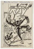Original Comic Art:Covers, Manny Clark The Ray #12 Cover Original Art (DC, 1995)....
