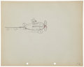 Animation Art:Production Drawing, Mickey Mouse The Mail Pilot Animation Production DrawingOriginal Art Group (Disney, 1933).... (Total: 2 Items)