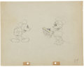 Animation Art:Production Drawing, Mickey Mouse Puppy Love Animation Production DrawingOriginal Art (Disney, 1933). ...