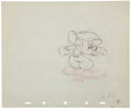 Animation Art:Production Drawing, Mickey Mouse Canine Caddy Animation Production DrawingOriginal Art Group (Disney, 1941).... (Total: 2 Items)