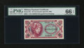 Military Payment Certificates:Series 651, Series 651 10¢ PMG Gem Uncirculated 66 EPQ....