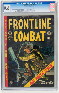 Frontline Combat #12 Gaines File pedigree 2/11 (EC, 1953) CGC NM+ 9.6 Off-white to white pages